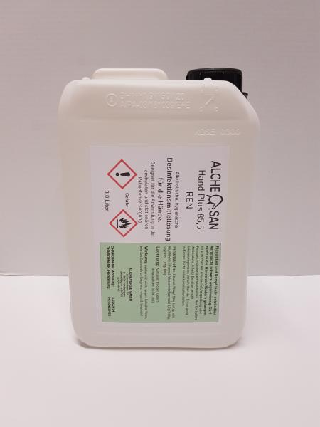 Alchesan Hand+ Handdesinfektion 3,0 Liter Kanister