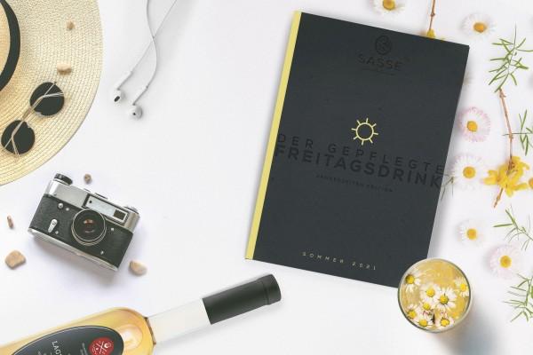 """Limitiertes Booklet """"Der gepflegte Freitagsdrink - Sommerdrinks 2021"""" (1 € für den guten Zweck)"""